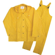 Boss Gloves 3PF2000YX 3-Piece Extra-Large Yellow Unlined Rainsuit