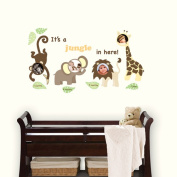 WallPops It's a Jungle in Here Wall Frames Kit