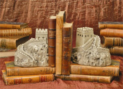 TMS P5642L 1.8m x 0m x 1.8m x 0m Bookends - Great Wall