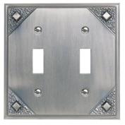 Atlas Homewares Lighting Wall Plates Craftsman 2 Toggle Metal Wall Plate - Oil Rubbed Bronze MDT-O