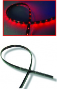 AUDIOP NLF512CBRD 30.5cm . Cuttable Ultra-Flexible LED Strip - Red