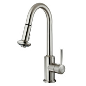 Vigo VG02012ST Stainless Steel Pull-Out Spray Kitchen Faucet