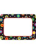 Creative Teaching Press CTP4505 Dots On Black Name Tags