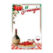 Beistle 54146 Italian Menu Board