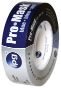 Intertape 1-.127cm . X 50m Pro-Mask Blue 14 Day Clean Release Masking Tape 9532-1.5