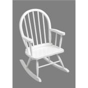 Giftmark 3600W Windsor Childrens Rocking Chair White