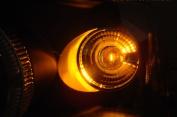 X5 Lightning 1157-CA X5 Lightning 1157 2057 Amber Silver Chrome bulbs