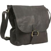 David King & Co 164T Laptop Messenger Bag- Tan