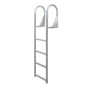 JIF Marine DJW4 4 Step Anodized Aluminium Swinging Dock Ladder