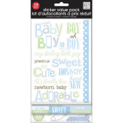 Glitter Stickers Value Pack