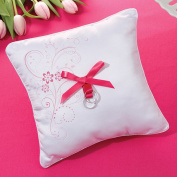 Lillian Rose RP490 P Pink Floral Ring Pillow