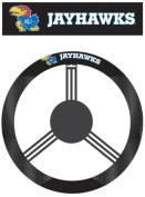 Fremont Die 58529 Poly-Suede Steering Wheel Cover - Kansas Jayhawks