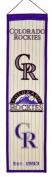 Winning Streaks Sports 46035 Colorado Rockies Heritage Banner