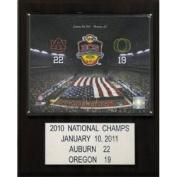 C & I Collectables 1215AUBCS10 NCAA Football Auburn 610mball Champions Plaque