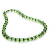 Alexander Kalifano WHITE-NGG-N10 Gorgeous Glass Necklaces Peridot