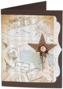 Sizzix 657857 Sizzix Textured Impressions Embossing Folder and Stamp Set-Hero Arts Postage and Frame