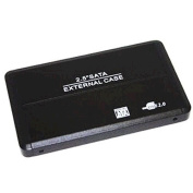 Sabrent 6.4cm SATA to USB 2.0 Portable Hard Drive Enclosure : EC-UST25