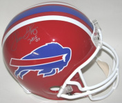 Victory Collectibles VIC-000166-30302 Thurman Thomas Autographed Throwback 1984-01 Buffalo Replica Helmet