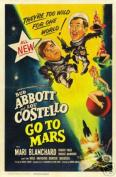 Hot Stuff Enterprise 5214-12x18-MV Abott and Costello Go to Mars Poster