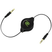 Retrak-emerge Etcable3535 Retractable 3.5mm To 3.5mm Cable 2.6 Ft