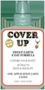 Cover Up Hunting Prod 6881 Cover-Up 4-Day Earth Spray
