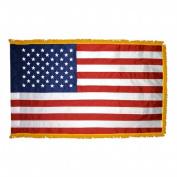 Annin Flagmakers 21600 4 ft. x 6 ft. Nylon-Glo US Indoor Flag with Fringe