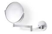 Zack 40116 FELICE wall mirror expand. max. 13.40 18cm Stainless Steel