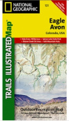 National Geographic TI00000121 Map Of Eagle-Avon - Colorado