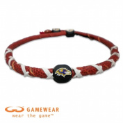 Gamewear 844214025424 Baltimore Ravens Classic Spiral Necklace- NFL