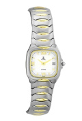 Nobel Watch N 757 L SS Two-Tone Ladys Watch Sapphire Crystal Swiss Movement Water-resistant 3 ATM