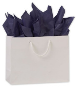 Bags & Bows by Deluxe 244M-090307-9M White Matte Laminated Euro-Shoppers - Case of 200