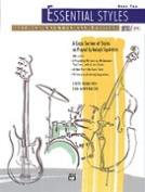 Alfred Publishing 00-4309 Essential Styles for the Drummer and Bassist Book 1 - Music Book