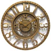 Infinity Instruments 12832AG Gear Clock