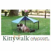 Kittywalk KWSCAR105 Carousel 48 in. diameter x 24 in.