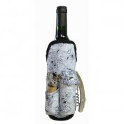 Picnic Gift 2040-BF Wine Apron - Blue Flower