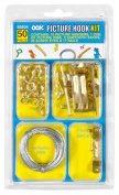 Hillman Group Inc - Ook 59204 50 Peice Assorted Picture Hanging Kit - Case of 12