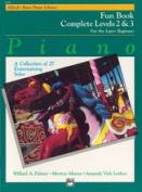 Alfred 00-6250 Basic Piano Course- Fun Book Complete 2& 3 - Music Book