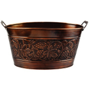 Old Dutch 836 Antique Embossed Heritage Party Tub