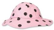 Trend Lab 100801-6M Beach Hat- Maya Dot Percale- Size 6 Months