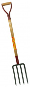 Seymour 6in. X 10in. Forged Steel Spading Fork With Hardwood Handle SV-SF10