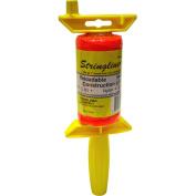 Stringliner .2 Braided Orange Nylon Pro Reel Reloadable Construction Line 25