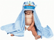 AM PM Kids 46021 Prince Tubby Hooded Towel - 68.6cm . x 127cm .