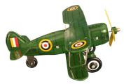 Alexander Taron MS454 Tin Curtis Bi-Plane