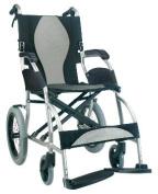 Karman Healthcare S-2501F18SS-TP Ergonomic Wheelchair-Pearl Silver