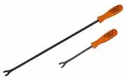 VIM Hand Tools VIMV613 2 Pc Long Reach Upholstery Clip Tool Set
