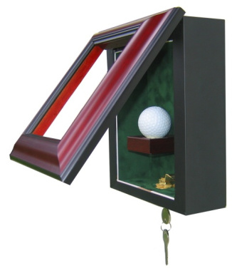 Powers Collectibles 99911330 Signed Golf Ball Display Case