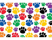 Teacher Created Resources 4799 Colorful Paw Prints Postcards