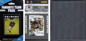 C & I Collectables 2010RAIDERSTSC NFL Oakland Raiders Licenced 2010 Score Team Set and Favourite Player Trading Card Pack Plus Storage Album
