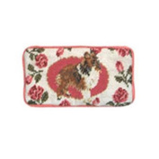 123 Creations C278EG Sheltie petit-point eyeglass case