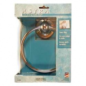 Liberty Hardware Bath Unlimit Polished Chrome Astra Towel Ring 127774